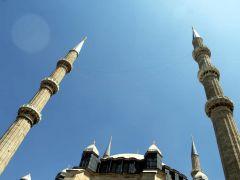 Mimar Sinan'ın ustalık eseri mahyayla süsleniyor