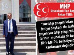 Yurtdışı Sevdalısı Belediye Başkanı İçin İlk Açıklama MHP'den
