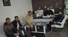 AK Partili Gençlerden Gazetemize Ziyaret