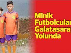 Minik Futbolcularımız Galatasaray Yolunda
