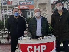 CHP Uzunköprü İlçe Başkanlığı  ESNAF DESTEK STANDI AÇTI