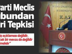 AK Parti Meclis Grubundan Bildiri Tepkisi