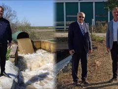 Meriç Nehri'nin Suyu Altınyazı Barajına Kavuştu
