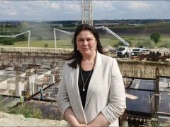 AK Parti İl Başkanı İba,  Uzunköprü projelerini yerinde inceledi