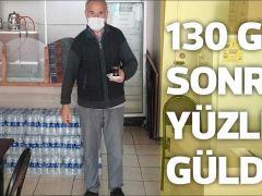 190 GÜN SONRA YÜZLERİ GÜLDÜ