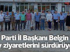 AK Parti İl Başkanı Belgin İba köy ziyaretlerini sürdürüyor