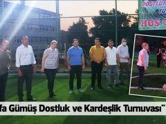 """""""Mustafa Gümüş Dostluk ve Kardeşlik Turnuvası"""" başladı"""