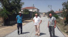 Köylerimizde yol bakım çalışmaları devam ediyor