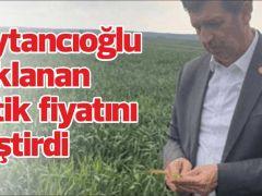 """Gaytancıoğlu açıklanan çeltik fiyatını eleştirdi;  """"AKP GİDERAYAK ÇİFTÇİLERE ÇOK ZARAR VERDİ"""""""
