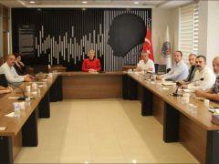 Başkan Becan, birim müdürleri ile toplandı