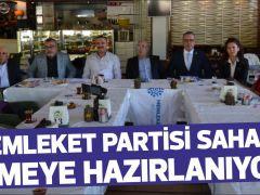 MEMLEKET PARTİSİ SAHAYA İNMEYE HAZIRLANIYOR