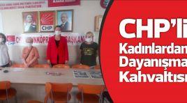 CHP'li kadınlardan dayanışma kahvaltısı